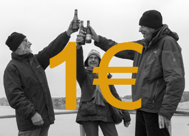 Une pinte, un euro